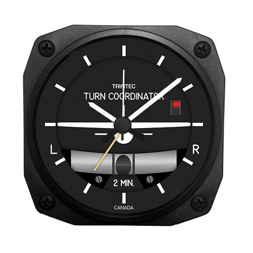 "3.5"" Modern Turn & Bank Alarm Clock"