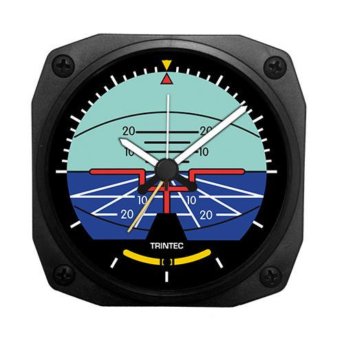 "3.5"" Classic Artificial Horizon Alarm Clock"