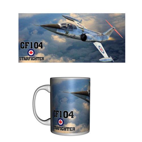 CF-104 Starfighter Ceramic Mug
