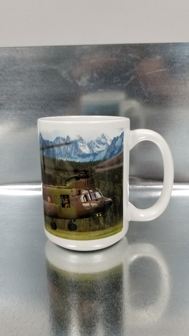 CH-147F Chinook Ceramic Mug