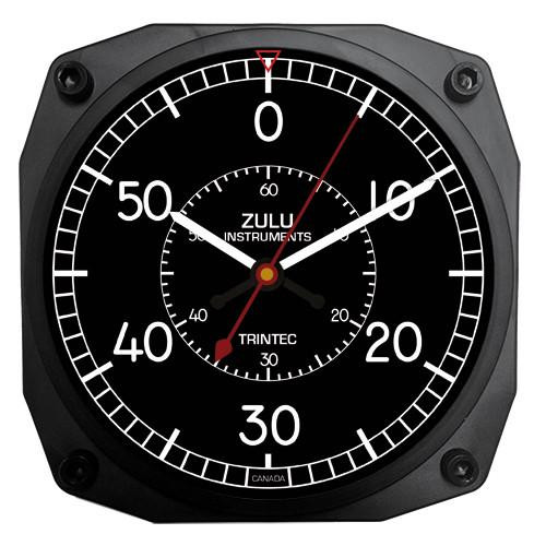 "6"" ZULU Instruments Flight Chronograph Clock"