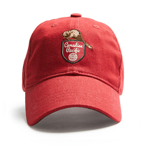 Canadian Pacific Beaver Cap (Red)