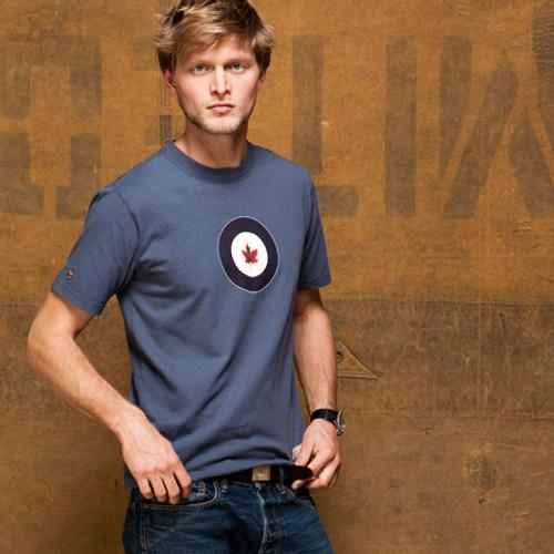 RCAF Shirt (Washed Blue)