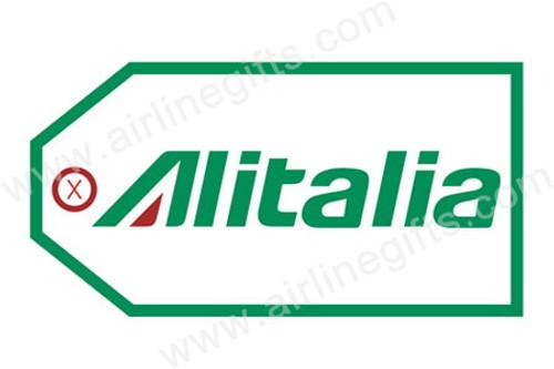 Alitalia Luggage Tag