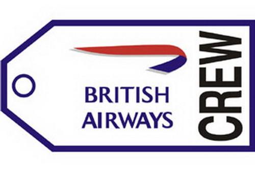 British Airways Crew Luggage Tag