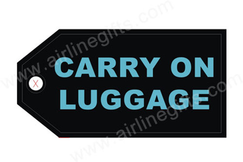 Carry On Luggage Tag