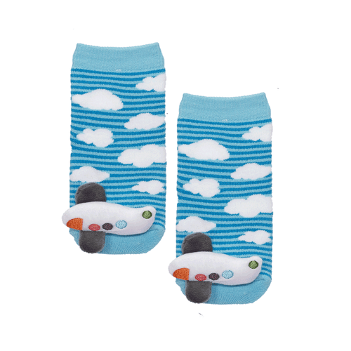 Baby Airplane Socks