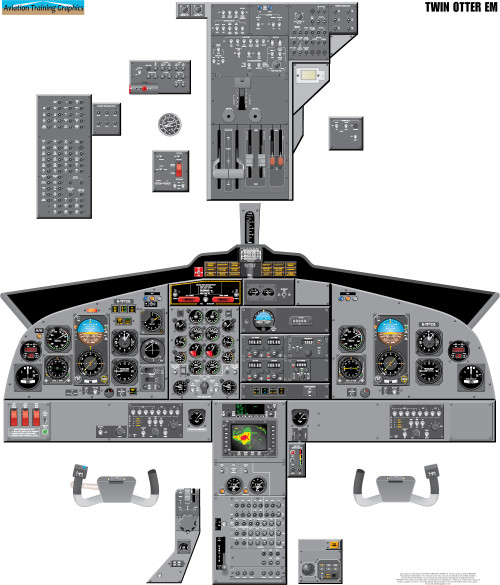 Twin Otter EM Poster