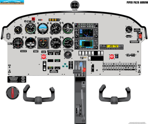 Piper PA28 Arrow Poster