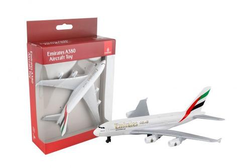 Emirates A380 Single Plane