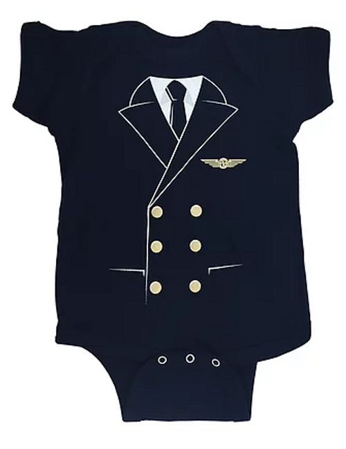 Baby Pilot Uniform Toddler Onesie