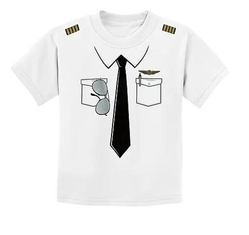 Pilot Uniform Youth T-Shirt