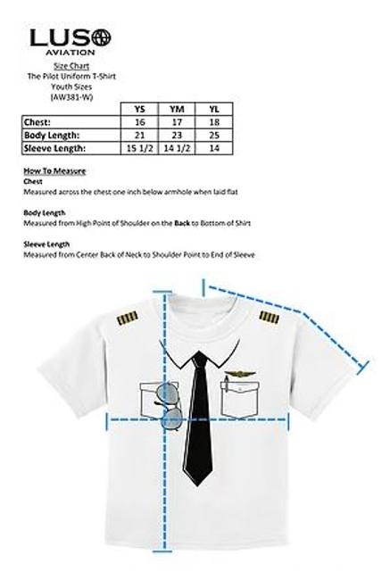 Pilot Shirt - Youth
