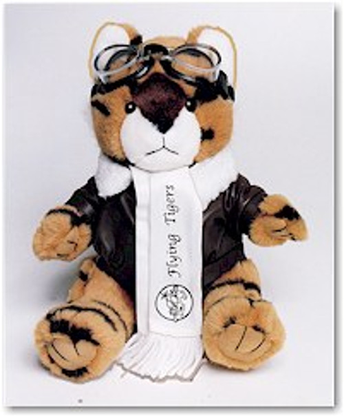 Aviator Flying Tiger Stuffed Toy