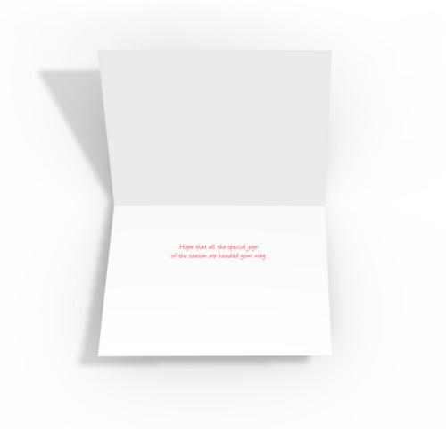 """Loading Santa's Sleigh"" Christmas Card Pack"