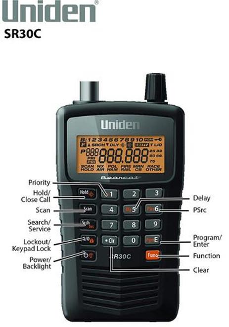 Uniden Bearcat SR30C Scanner