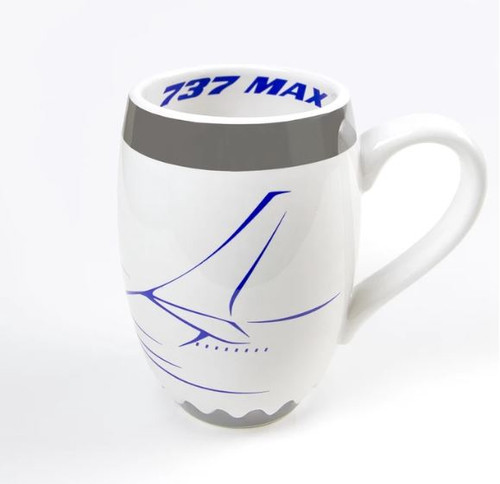 Boeing Unified 737 MAX Engine Mug