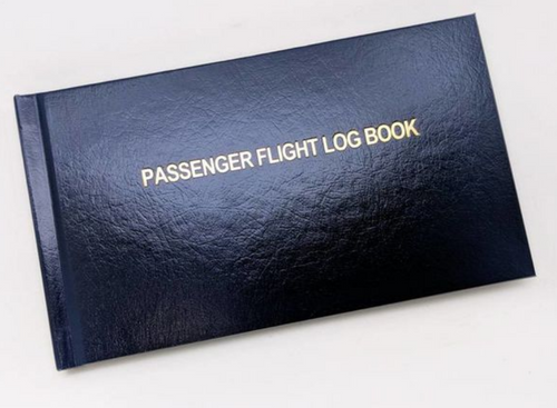 Passenger Logbook - Blue