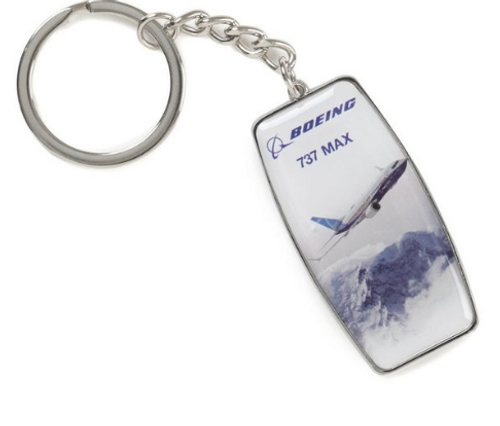 Boeing Endeavors 737 MAX Keychain