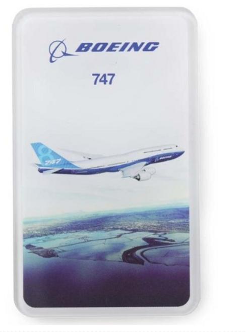 Boeing Endeavors 747 Magnet