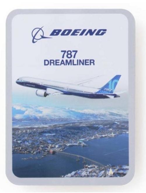 Boeing Endeavors 787 Dreamliner Sticker