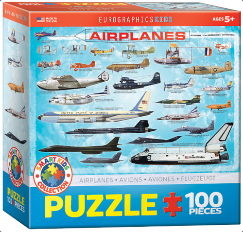 History of Aviation Puzzle - 100 Pieces