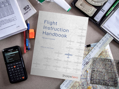 SharpeAero Flight Instruction Handout Booklet