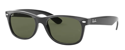 Ray-Ban New Wayfarer Black Non-Polarized Sunglasses