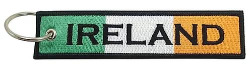 Embroidered Flag Keychain - Ireland