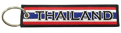 Embroidered Flag Keychain -  Thailand