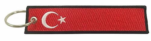 Embroidered Flag Keychain - Turkey