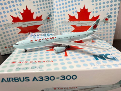 NG Models 1:400 Air Canada A330-300 Old Colors