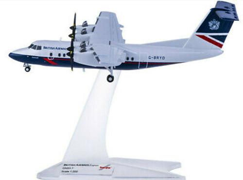 Herpa 1:200 British Airways De Havilland Canada DHC-7 (HE558112)