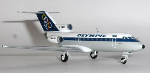 Herpa 1:200 Olympic Yakovlev Yak-40 (HE558921)