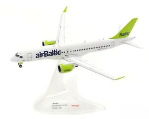 Herpa 400 Air Baltic CS300 (HE562607)
