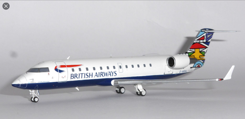 NG 1:200 British Airways Emmly Masanabo CRJ200 (G-MSKL)