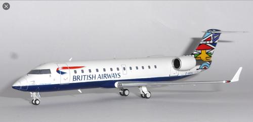 NG 1:200 British Airways Emmly Masanabo CRJ200 (G-MSKL)