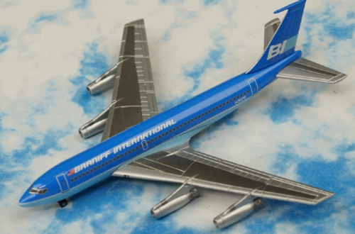 Jet-X 1:400 Braniff International Boeing 720 Blue (JX112)
