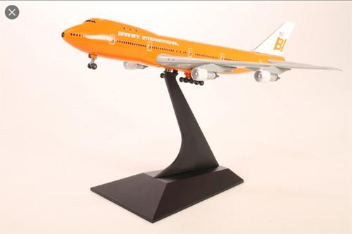 Dragon Wings 1:400 Braniff International Orange 747-100 (55085)