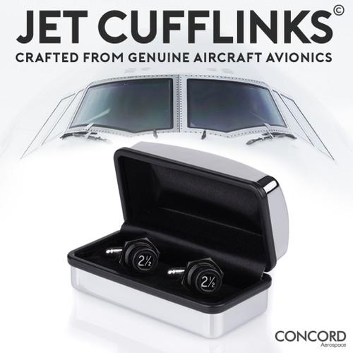 Jet Cufflinks