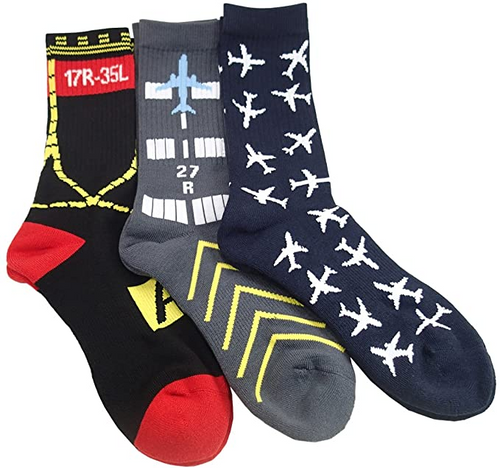 Luso Premium Aviation Socks - 3 Pack (794849707533)