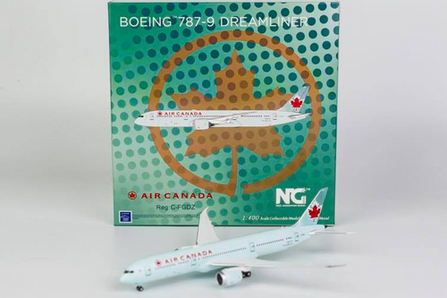 NG Models 1:400 Air Canada 787-9 (Classic Sky Blue Livery) (C-FGDZ)