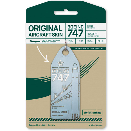 AviationTag Cathay Pacific 747-400
