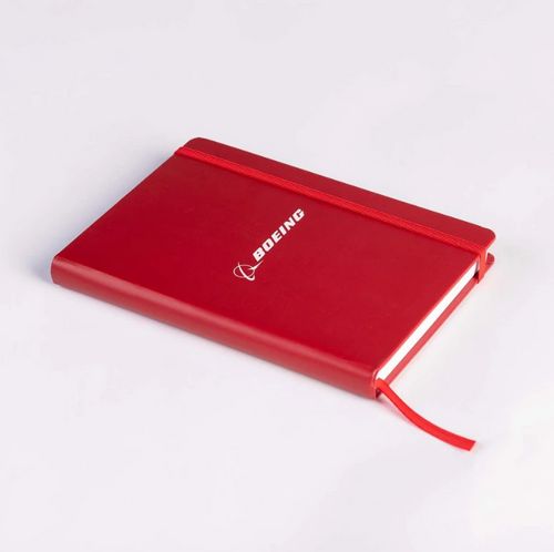 Boeing Logo Red Notebook (4650470100390002 - RED)