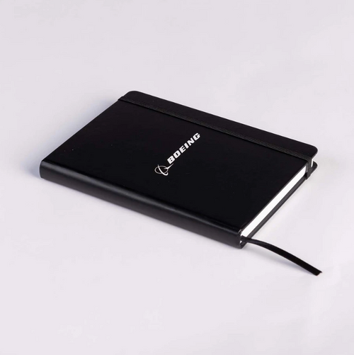 Boeing Logo Black Notebook (4650470100390002 - BLACK)