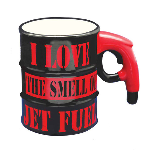 """I Love the Smell of Jet Fuel"" Mug (MUG-JF2)"