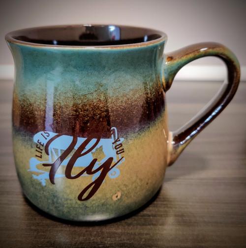Mug has natural variations in colour.