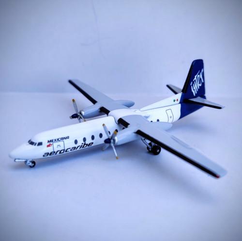 Aeroclassics 1:400 AeroCaribe Fokker F-27 (XA-CZA 1:400)