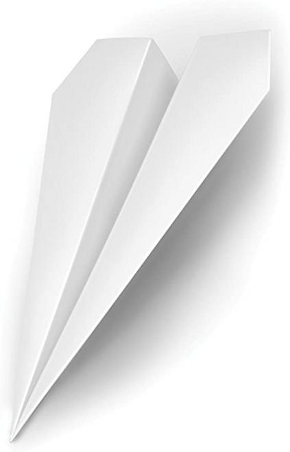 """Last Stop """"Paper"""" Airplane Doorstop"""