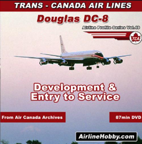 Trans-Canada Air Lines Douglas DC-8 DVD